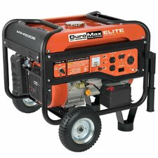 Elite 7.0 Hp 4,400 Watt Gasoline Generator with Electric Start and Wheel Kit