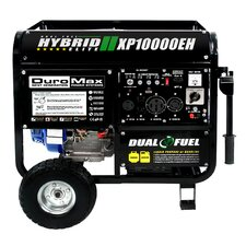 Hybrid 10,000 Watt Gasoline Generator with Electric Start