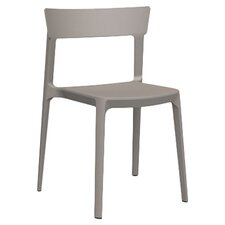 Skin Armless Stacking Chair (Set of 4)