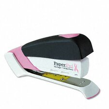 Paperpro Pink Ribbon Desktop Stapler, 20-Sheet Capacity