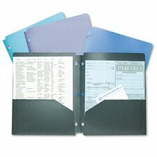 Acco Snapper Twin Pocket Poly Folder (Set of 4)