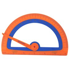 Microban Kids Soft Touch Protractor (Set of 3)