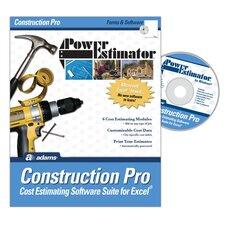 Power Estimator Construction Pro Estimating Software Compact Disc (Set of 4)