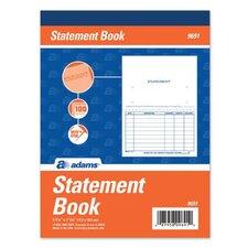 1 Part Statement Book (Set of 625)