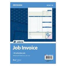 3 Part Carbonless Job Invoice Unit (Set of 1800)