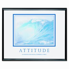 'Attitude/Waves' Framed Photographic Print