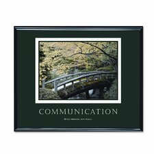 'Communication' Framed Photographic Print