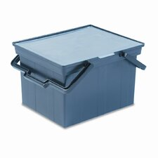 Companion Portable File Storage Box, Legal/Letter, Plastic
