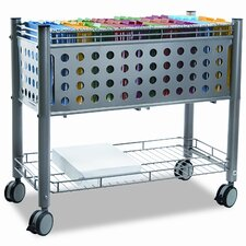 Vertiflex Smar2rx File Cart, 1-Shelf, 28-1/4W X 13-3/4D X 27-3/8H