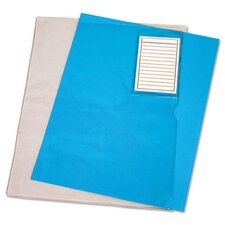 Vinyl File Folder, Letter with Pocket (Set of 3)