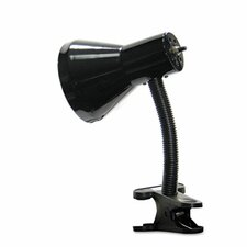 """Ledu Clip-On Gooseneck 9"""" H Table Lamp with Bell Shade"""