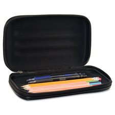 Innovative Storage Designs Large Soft-Sided Pencil Case, Fabric with Zipper Closure