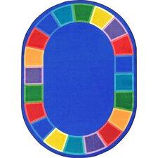 Kid Essentials Blue Area Rug