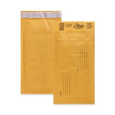 """Bubble Mailer,w/Peel and Seal,No. 00,5""""x10"""",25/CT,Kraft"""