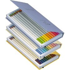 Irojiten Colored Pencils, Seascape (30-Pack) (Set of 30)
