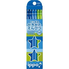 Ippo, Wood Pencil, 2B (12-Pack)