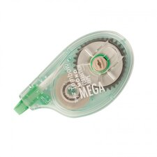 "MONO Mega Correction Tape, Non-Refillable, 1/6"" x 630"""