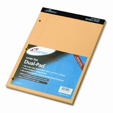 Evidence Pad, Dual College/Med Ruled, 8-1/2 X 11-3/4, 100 Sheets