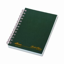 Gold Fibre Personal Notebook, College/Med Rule, 5 X 7, 100 Sheets (Set of 2)