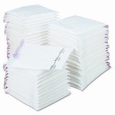 Jiffy TuffGard Self-Seal Cushioned Mailer, Side Seam, #2, White, 50/carton