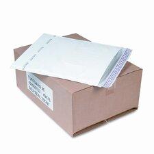 Jiffy TuffGard Self-Seal Cushioned Mailer, Side Seam, #6, White, 25/carton
