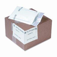 Jiffy TuffGard Self-Seal Cushioned Mailer, Side Seam, #000, White, 25/carton