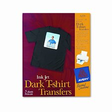 Personal Creations Inkjet T-Shirt Transfer, 8-1/2 X 11, 5/Pack