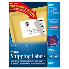 Shipping Labels with Trueblock Technology, 100/Pack