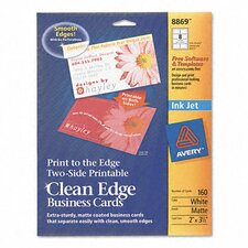 Inkjet Matte Business Cards (160/Pack)