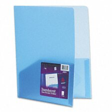 Polypropylene Pocket Portfolio (Set of 4)