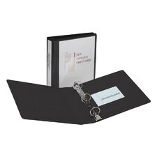 Showcase Reference View Binder, 1/2in Capacity, Black (Set of 2)