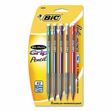 0.5 Mm Matic Grip Mechanical Pencil (Set of 2)