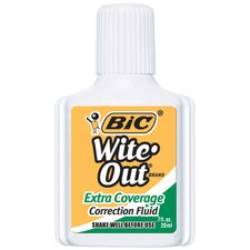 Bic Wite Out Correction Fluid Extra (Set of 4)