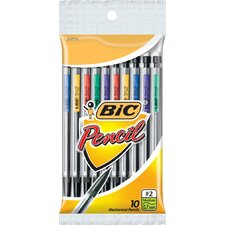 10 Count 0.7mm Primary Colored Mechanical Pencil (Set of 12)