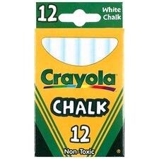 12 Sticks - Tuck Box White Chalk (Set of 7)