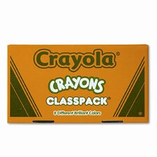 Classpack Regular Crayons (50 Each of 8 Color, 400/Box)