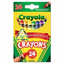Classic Color Pack Crayons (24/Box) (Set of 3)