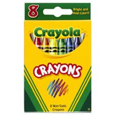 Crayola Crayons 8 Color Peggable (Set of 6)