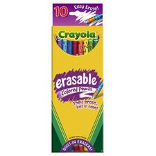 Erasable Colored Pencils 10 Color (Set of 2)