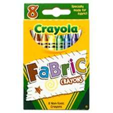 Crayola Fabric Crayons 8pk (Set of 3)