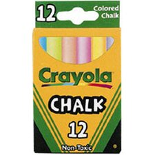 Crayola Colored Low Dust Chalk (Set of 7)