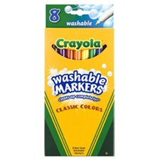 Washable Drawing Marker 8 Colors (Set of 2)