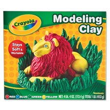 Modeling Clay Assortment, 1/4 Lb Each, 1 Lb (Set of 3)