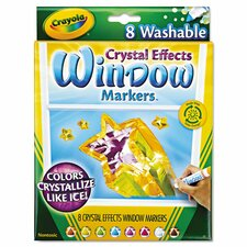 Washable Window Fx Markers (8 Pack) (Set of 2)