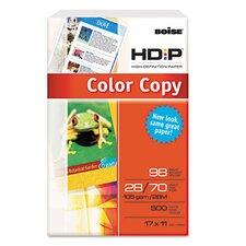 Hd:P Color Copy Paper, 98 Brightness, 28Lb, 11 X 17, 500 Sheets/Ream