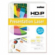 Hd:P Presentation Laser Paper, 96 Brightness, 28 Lb, 8-1/2X11, 500/Ream