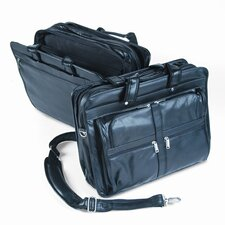 Bond Street, Ltd. Tech-Rite® Lambtouch Leather-Loo Laptop Briefcase