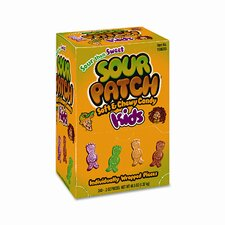 Sour Fruit Flavored Candy, Grab-and-Go, 240 Pieces/box