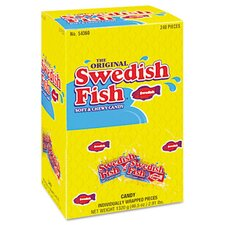 Swedish Fish Grab-And-Go Candy Snacks (240 Pieces/Box)