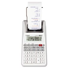 P1-DHVG One-Color 12-Digit Printing Calculator, White